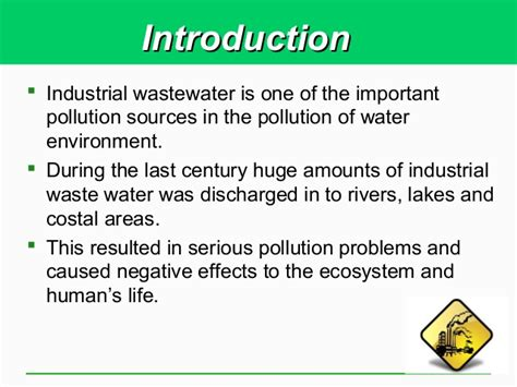Explain The Different Sources Of Mba by Industrial Waste Water Pollution Tmba 2013 04