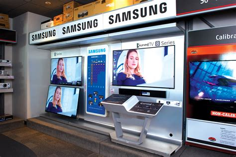 display tv samsung uhd tv retail display holman exhibits