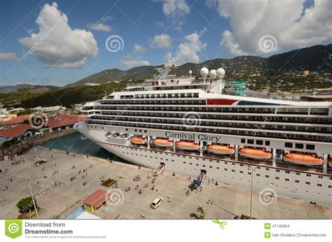 St Glori by Carnival Cruise Ship Editorial Stock Image Image Of