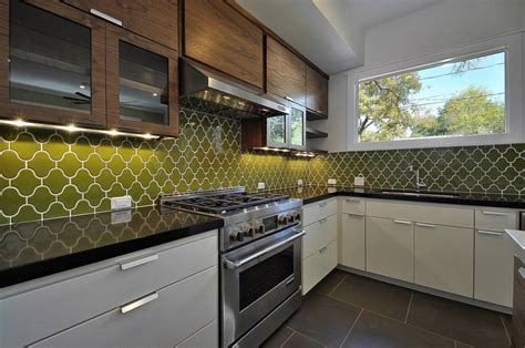 Recycled Glass Backsplashes For Kitchens Show Your Creativity Color In A Kitchen Backsplash Dailyherald