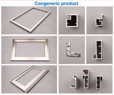 CNC anodized aluminium drawer handle profile factory
