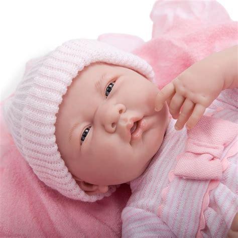 Baby Pink Newborn Babydoll Set jc toys la newborn 15 5 quot soft boutique