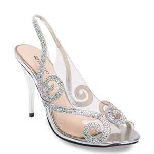 wedding shoes qatar silver bridal shoe with rhinestones