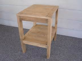 Patio Table Plans Diy Diy Plans To Make End Table Set Indoor Outdoor By Wingstoshop