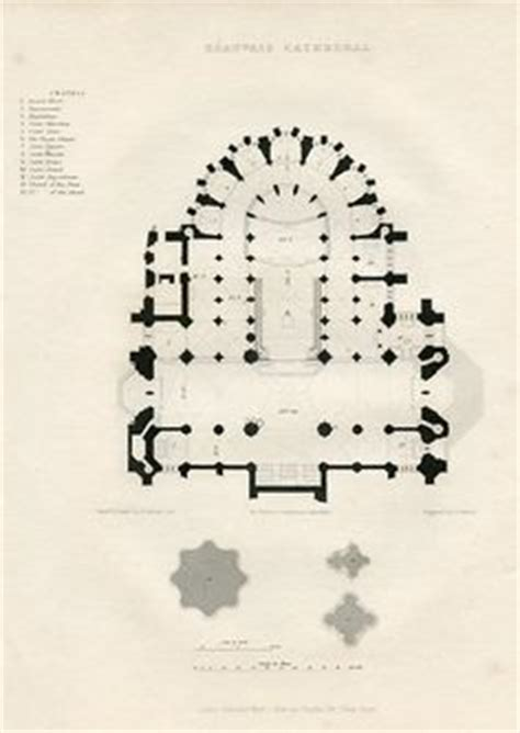 amiens cathedral floor plan amiens cathedral floor plan map kirchenf 252 hrung pinterest