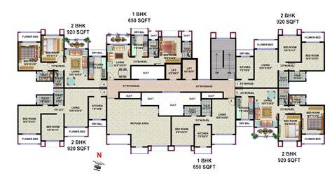 sanctuary green floor plan galaxy apartments hdil