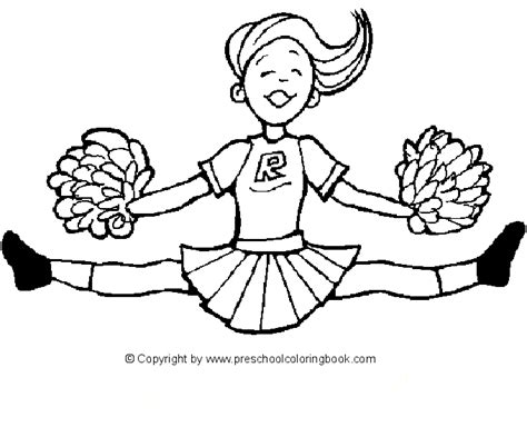 cheerleading coloring and activity book extended cheerleading is one of idan s interests he has authored various of books which giving to etc movements extended volume 11 books www preschoolcoloringbook sports coloring page
