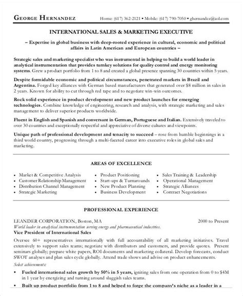 indian marketing executive resume sles 20 executive resume templates pdf doc free premium templates