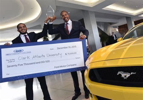 Hbcu Mba Programs by Clark Atlanta Students Awarded 75 000 As