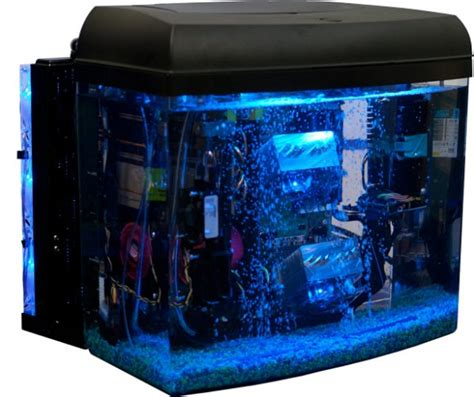 cool computer cool your pc by submerging it in oil geek com