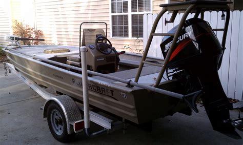 heavy duty aluminum jon boats 2002 all welded alumacraft cc 16 aluminum flats john boat