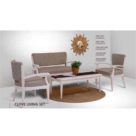Living Clove clove living set indoor mahogany furniture indonesia