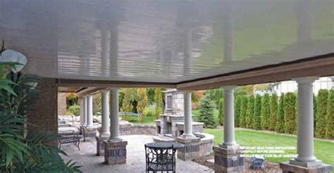 Best Deck Ceiling Systems by Zipup Deck Drainage Ceiling System