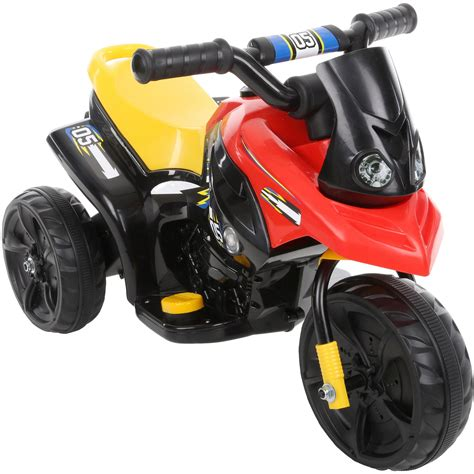 mini electric motor mini moto electric chargeable 6v ride on trike black