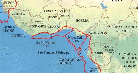 africa map gulf of guinea gulf of guinea crossed crocodiles