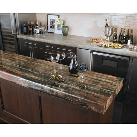 Formica Brand Laminate 48 In X 96 In Petrified Wood 180fx Formica Kitchen Countertops