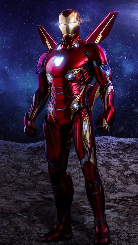 iron man red armor mark iphone wallpaper iphone