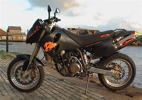 Ktm Duke Ii 2004 Ktm 640 Duke Ii Yellow Black Moto Zombdrive