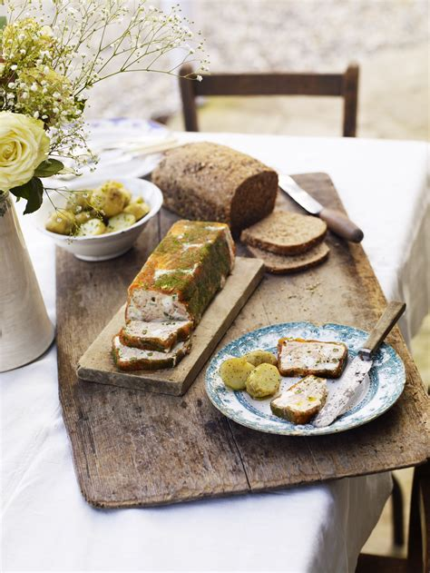Terrine River Cottage Recipe by Trout Terrine With Capers Chopped Egg Dill And Chives Gill Meller