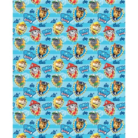 how to wrap a s paw paw patrol wrapping paper 4m gift wrap b m