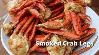 smoked crab legs recipe how to smoke snow crab legs on