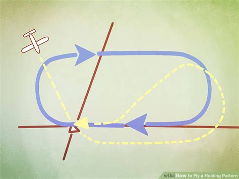 holding pattern rule of thumb how to fly a holding pattern 12 steps with pictures