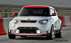 Kia Soul Trackster 2012 Kia Trackster Concept Is Widebody Soul Coupe With 250hp
