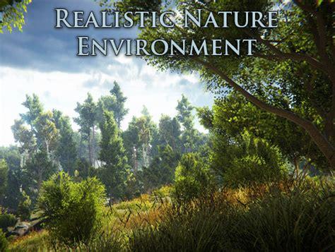 unity environment tutorial realistic nature environment asset store