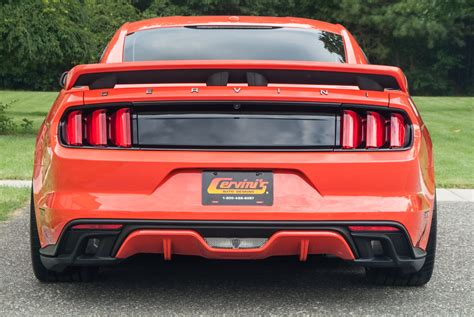 side exhaust mustang cervini 2015 2017 mustang side exhaust kit side exhaust