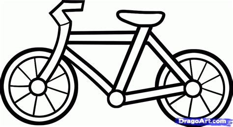 Kaos Bicycle Culture Easy Bike drawing bicycle clipart best