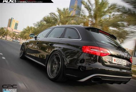 audi wagon black adv1 rs4 avant rs5 wagon lowered bronze black wheels b