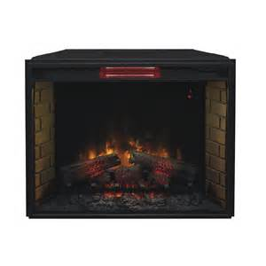 Fireplace Insert Electric Classicflame 33 In Infrared Spectrafire Plus Electric Fireplace Insert 33ii310gra