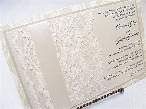 lace templates for wedding invitations free lace wedding invitation template weddingplusplus com