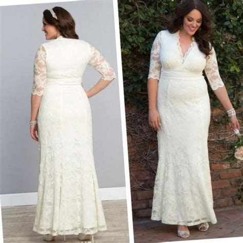 Islamic Plus Size Modest Wedding Dresses by Wedding Dress With Sleeves Plus Size Pluslook Eu Collection