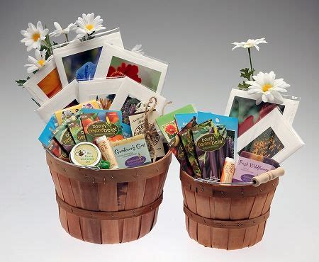 Gardening Basket Ideas Gardening Gift Baskets Goody Bag Soaps Gifts And Veggies