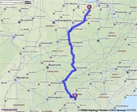 mapquest atlanta usa driving directions from 439 craigston dr mansfield ohio