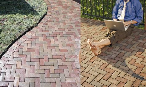 Eco Friendly Patio Pavers by Vast Pavers Eco Friendly Composite Pavers Made From