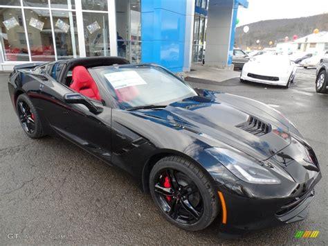 Black Stingray Corvette 2016 by 2016 Black Chevrolet Corvette Stingray Coupe 110586152