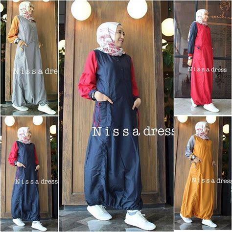 Baju Nisa by Busana Muslim Terbaru Nisa Dress Grosir Baju Muslim