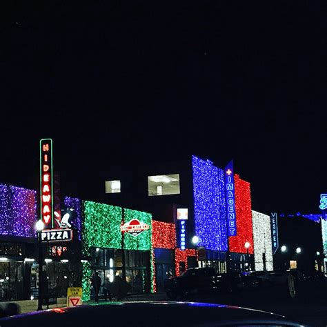 automobile alley christmas lights find plenty of winter family fun in oklahoma city little