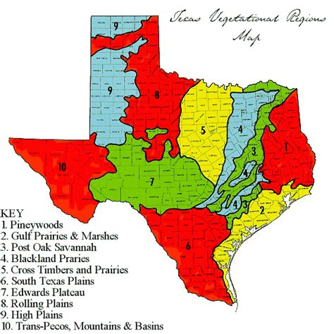 texas ecoregions map hardiness zones precipitation environment and yeah it s really here s