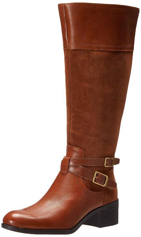womens wide calf western boots franco sarto s lapis wide calf western boot ebay