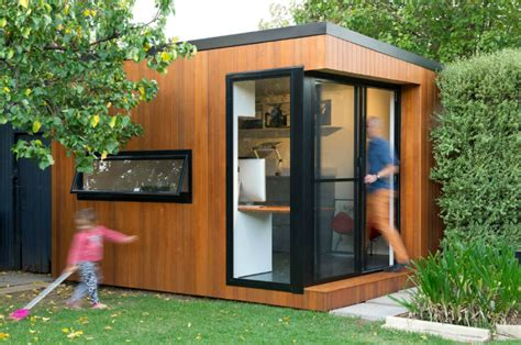 modern outdoor home office sheds  wouldnt   leave