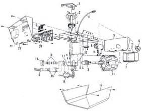 sears 139 53606 garage door opener parts