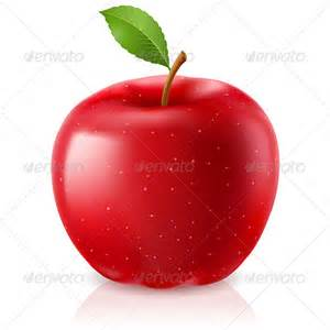 delicious red apple by dvarg graphicriver