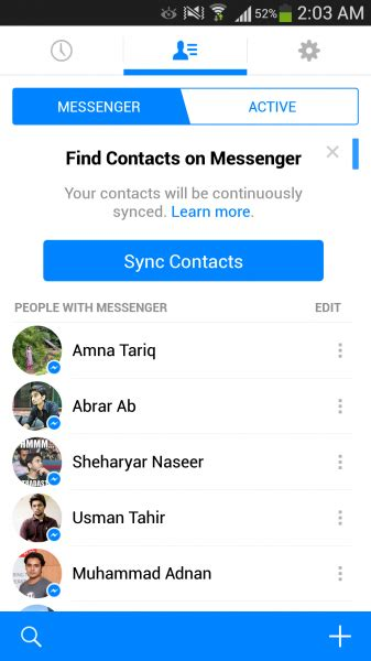 apk fb messenger messenger apk for android now