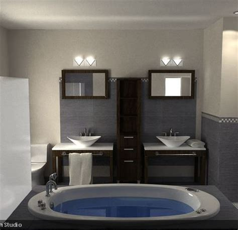 Bathroom With Two Separate Vanities by The Idea Of Two Separate Vanities Vs 1 Vanity With 2