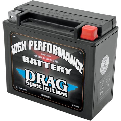 Harley Davidson Sportster Battery by Drag Specialties Battery Harley Sportster Softail Dyna