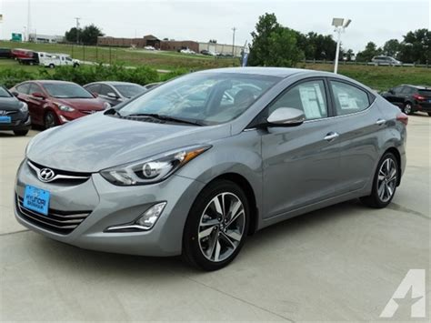 Hyundai Elantra Sedan 4dr by 2015 Hyundai Elantra Limited 4dr Sedan Pzev For Sale In