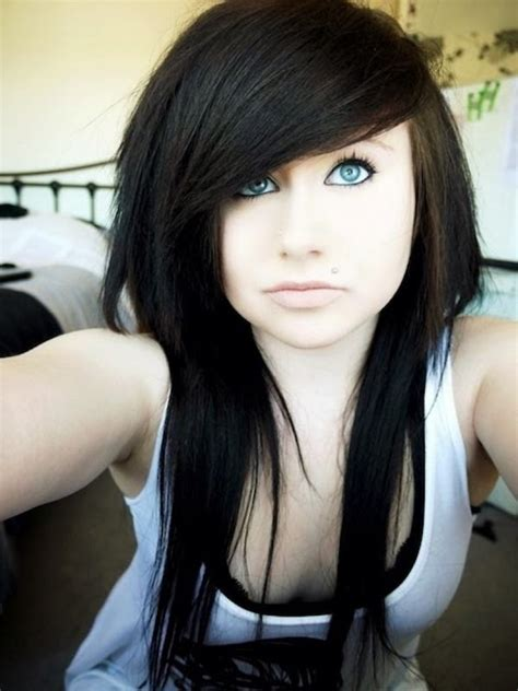 scene haircuts for thin hair girls the most incredible as well as beautiful hairstyles emo